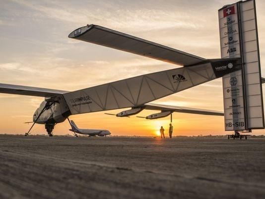 太阳能飞机完成美国旅程