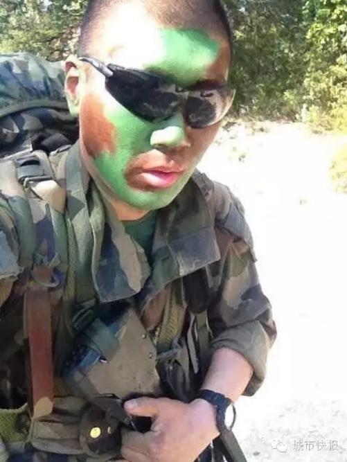 外籍军团傅晨_法国外籍军团的天津小伙网上征婚