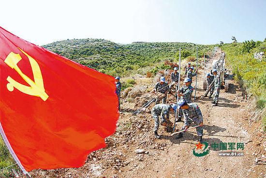 中国赴黎维和工兵10年排雷2000多枚