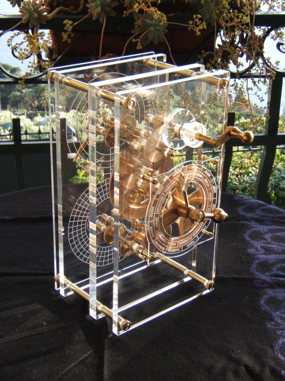 目前,安提基特拉机械装置的所有已知的部分都被雅典的国家考古博物馆