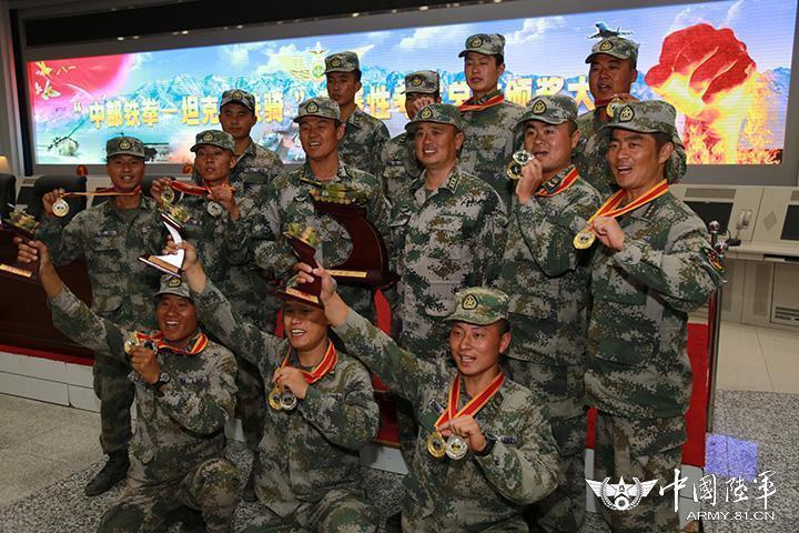 解放军坦克大赛:新型坦克列装1年挑战极限