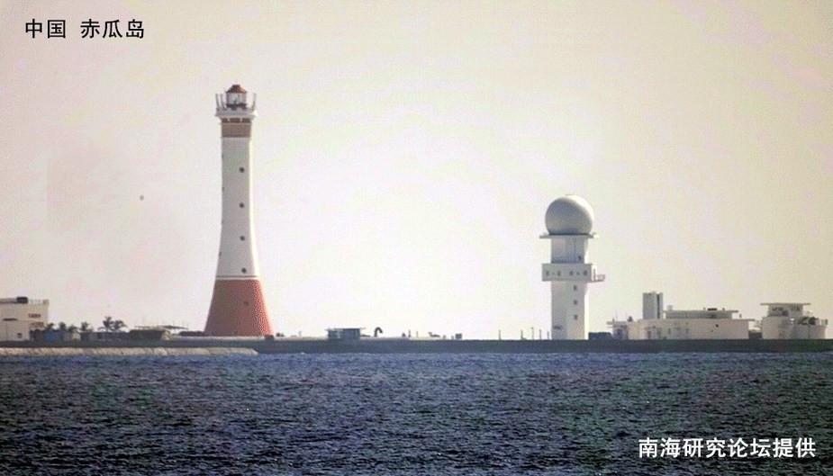 中国南海岛礁5座灯塔4座已点亮