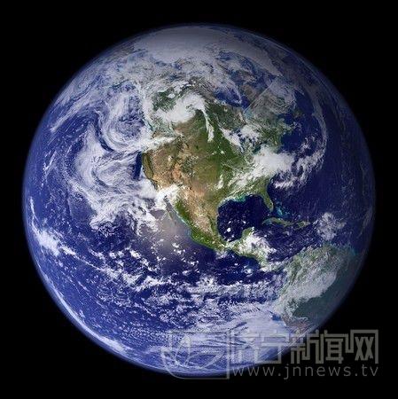 日本气象厅拍下地球素颜照