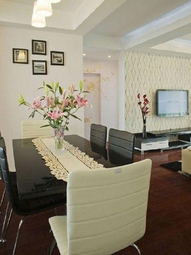 白色简约 粉色田园 3套75平米小户型装修设计案例