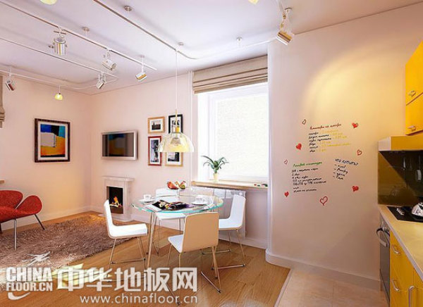 小公寓的装修法则 木地板演绎现代家居情