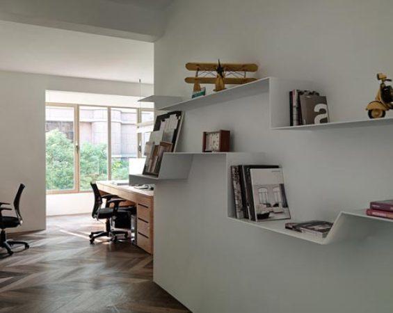 家中有阅读好环境 小书房装修效果图