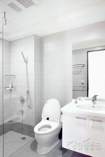经典小户型卫生间装修案例 巧设计才能有大收纳