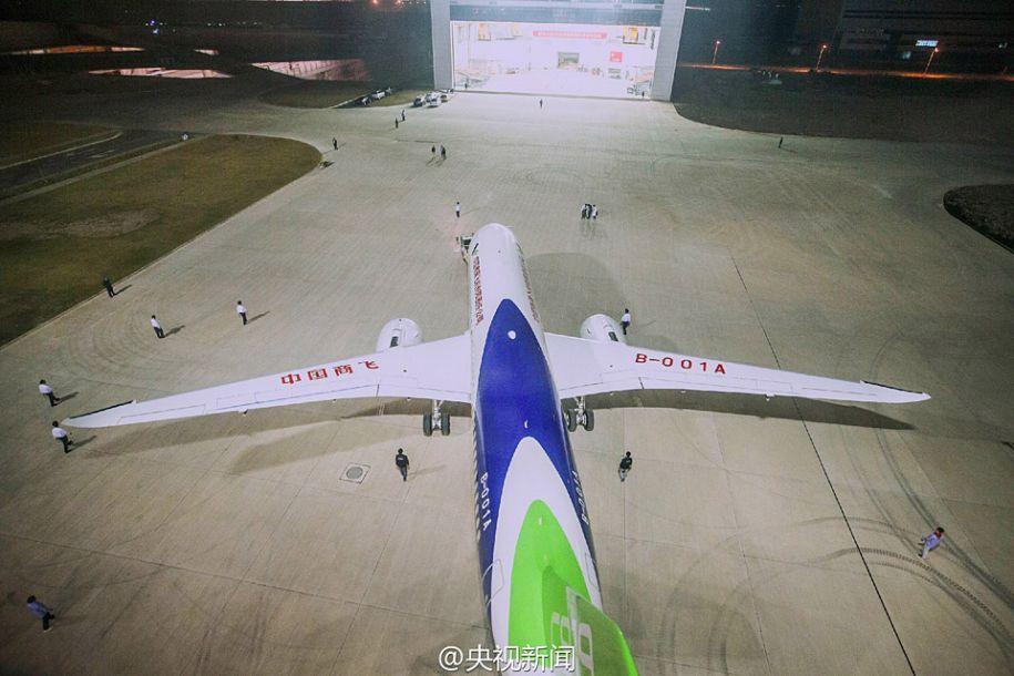 美媒评中国生产大飞机的挑战:需世界一流客户支持