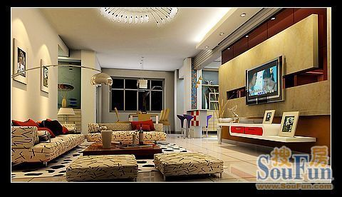 客厅电视背景墙设计 14款个性电视墙欣赏