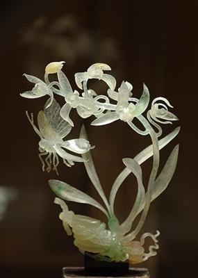 慈禧翡翠西瓜慈禧生前最爱的17件国宝翡翠玉雕 件件稀世珍品