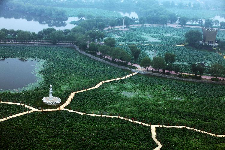 山东寿光生态农业观光园