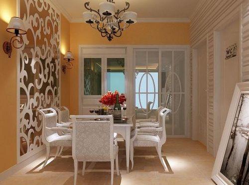 客廳餐桌效果圖 現代風格裝修曬潮流居室