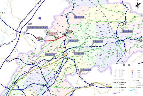 万州双河口地图