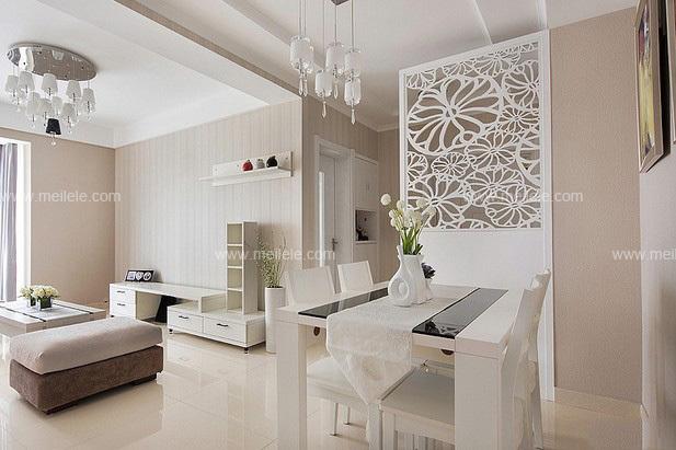 赏析家居隔断效果图 门厅玄关隔断设计更精彩:客厅与餐厅在