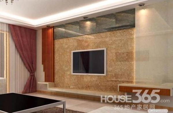 简欧电视背景墙 简约不简单的设计