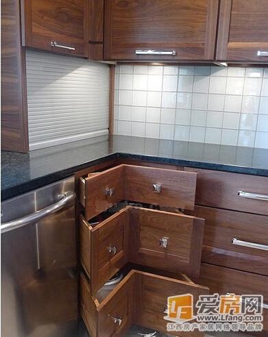 开放式实木整体橱柜